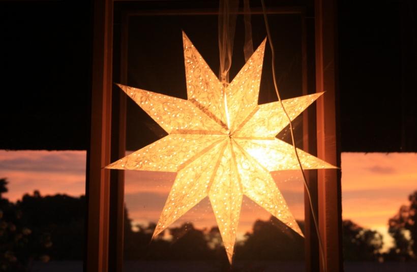 Star light sunset