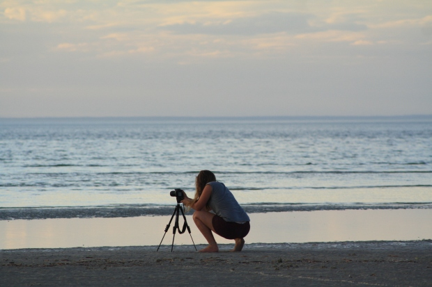 Photographing the photographer.