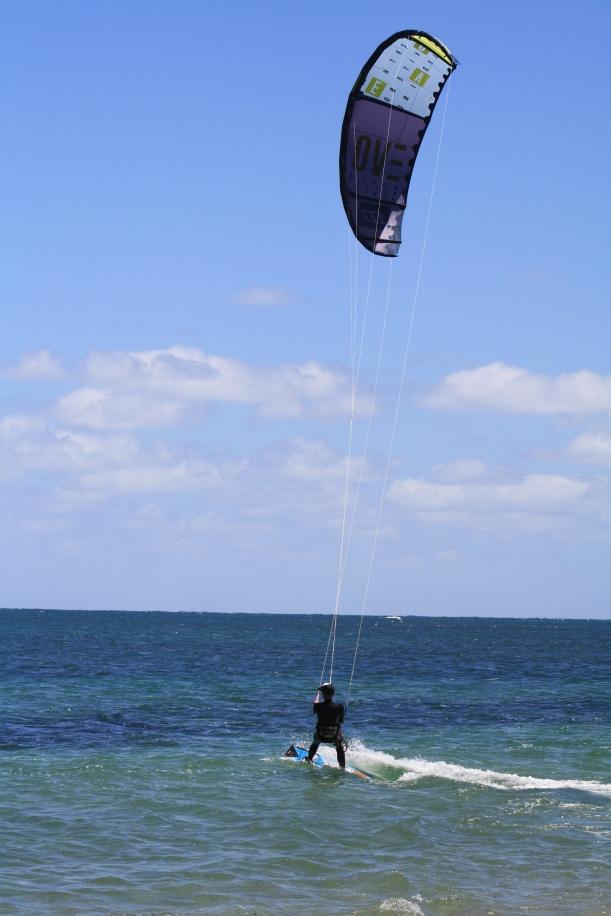 kitesurfing WA
