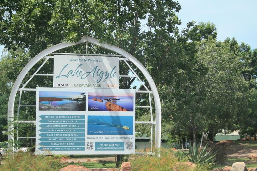 Lake Argyle Resort caravan park