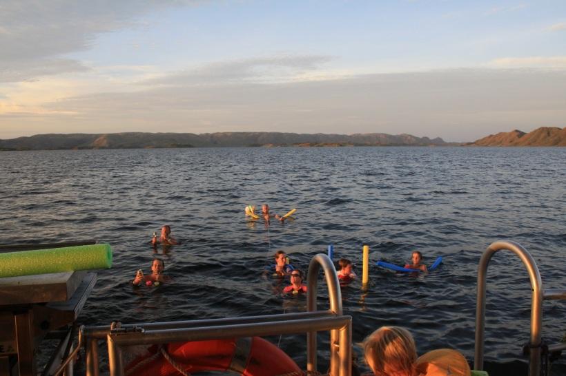 Lake Argyle swimming