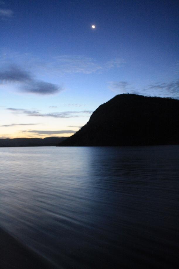 Lake Argyle at night
