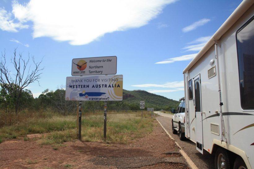 WA NT border