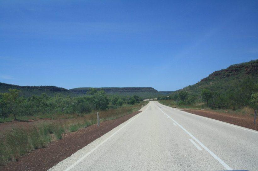 open road in Australia