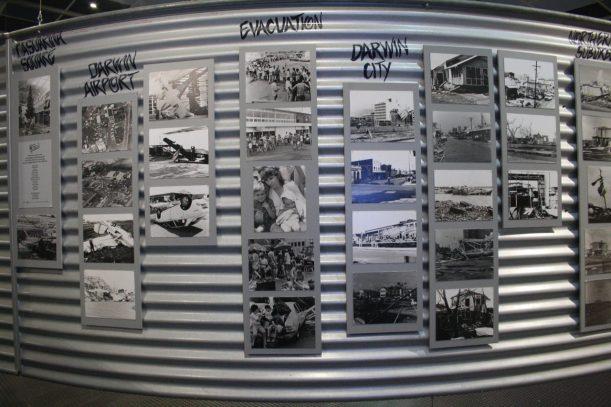 cyclone Tracey display