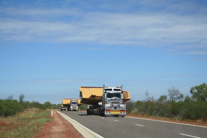 wide load Australia