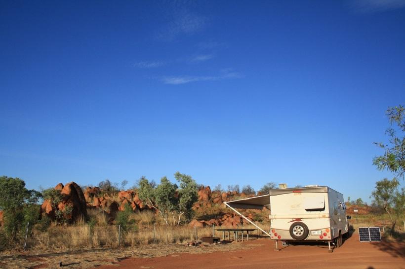 Kunjarra caravan sites