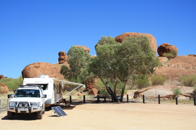 Devils Marbles campground