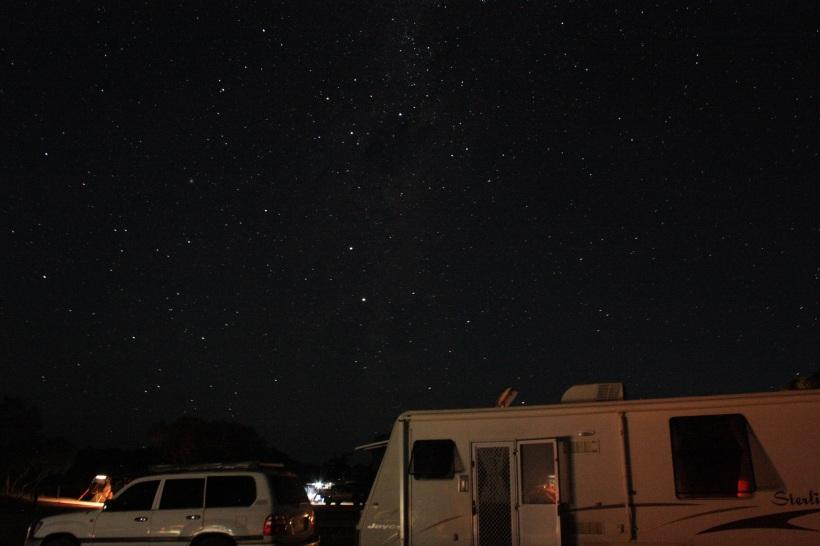 caravanning under the stars