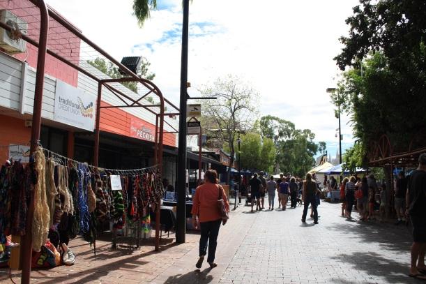 Todd street mall