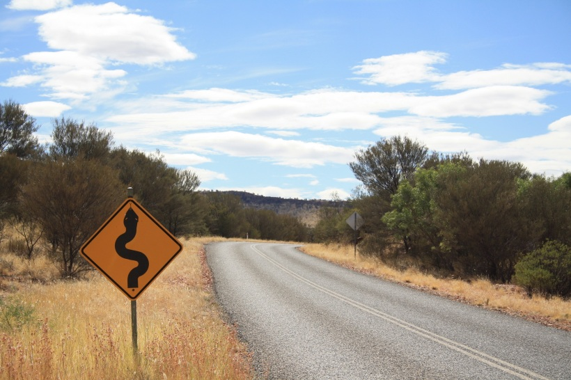 Aussie roadsign