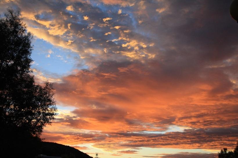 Alice Springs sunset
