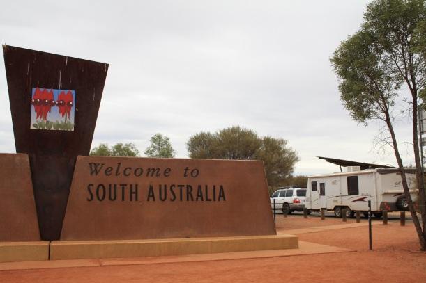 SA NT border