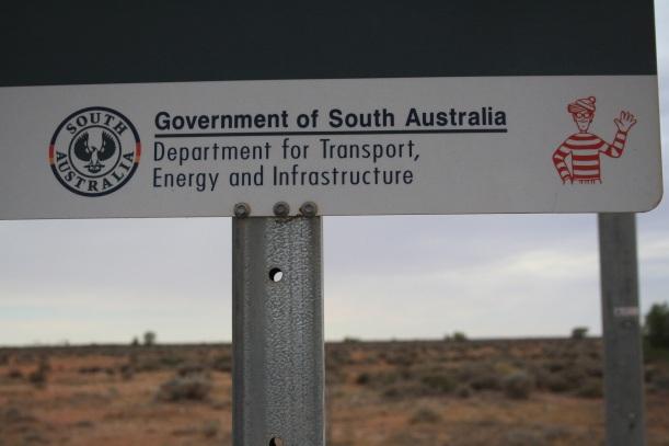 Government of SA where's Wally