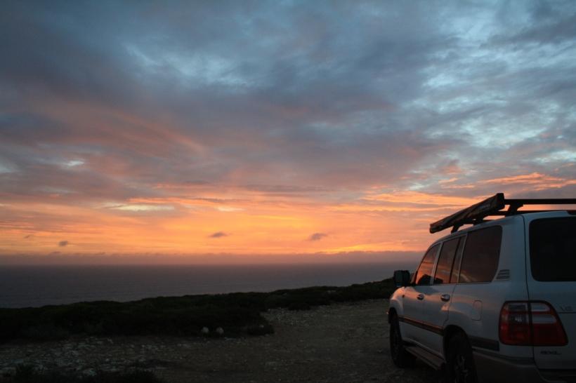 Bunda cliff camping