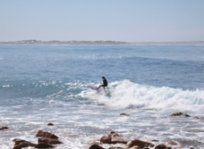 surfer at Chicken Run