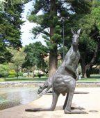 kangaroo statues Perth