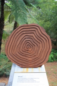 Mt Lofty Botanic Garden sculpture