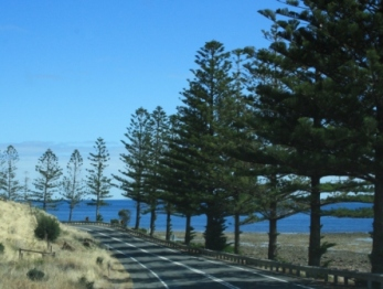 South Australian coastal roads