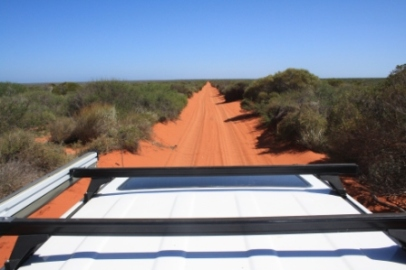 Red dirt roads Australia