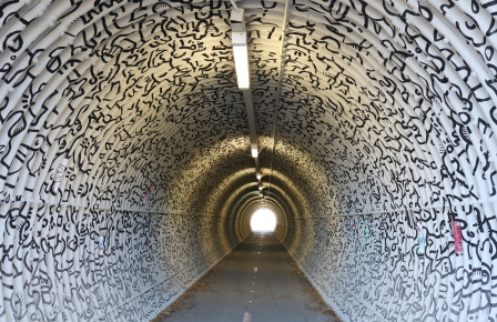 Tunnel art