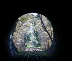 Railway tunnel Adelaide Hills