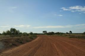 red dirt roads Australia