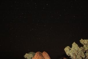 Central Australia night sky