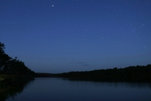 starry nights on the Murray river