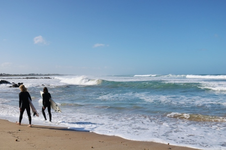 surfers at Middleton