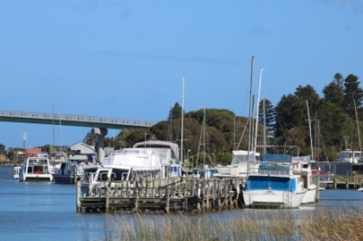 Murray River at Goolwa