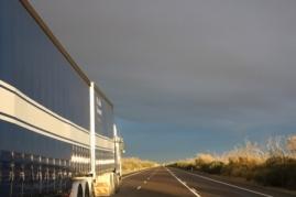 passing trucks