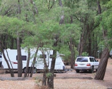 caravanning in Australia