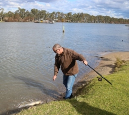 River Murray fishing