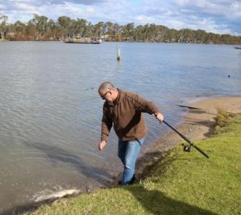 River Murray fishing