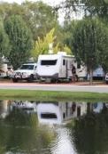 Caravan Park lake
