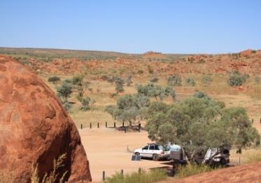 Devils Marbles caravan site