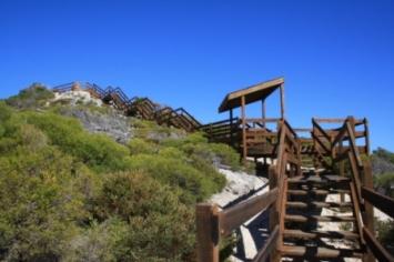 a climb to a view