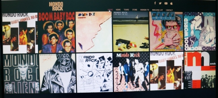 Mondo Rock catalogue