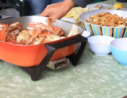 crab cook up