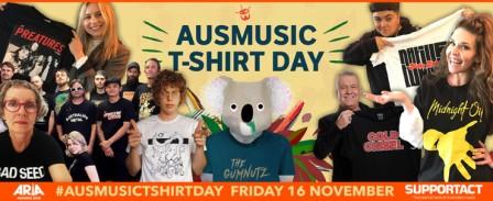 Aus Music T-shirt Day