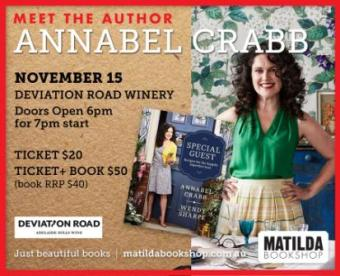 Annabel Crabb meet the author