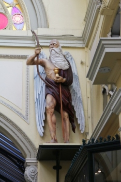 Royal Arcade, father time