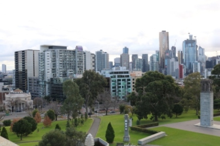 Melbourne city views