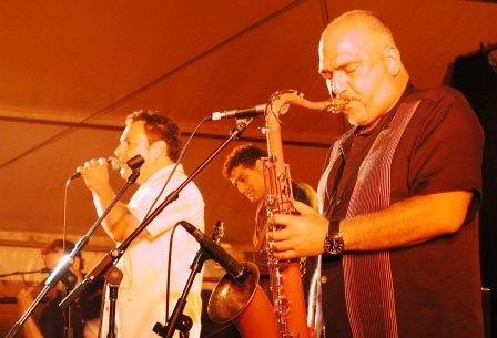 Joe Camilleri and Ross Wilson