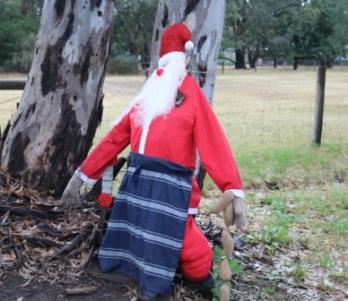 butcher Santa