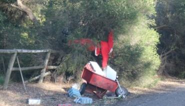 accident Santa