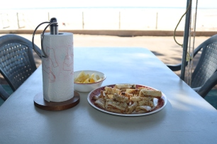 Garlic butter Calamari