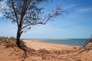 Beach driving Australia