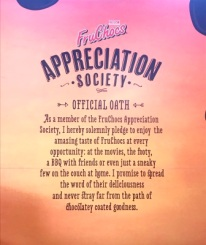 FruChoc Appreciation Society